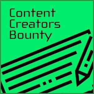 Content Creators Bounty